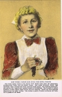 1X - Mary Dubray, parlor maid, Royal York Hotel, Toronto