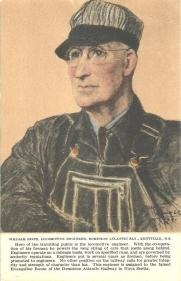 1O - William Hiltz, locomotive engineer, Dominion Atlantic Railway, Kentville, Nova Scotia