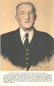 1P - H. Jenkins, dining car steward, Winnipeg