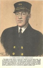 1T - J.A. Lemire, station master, Windsor Station, Montreal