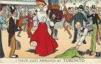 Toronto greetings postcard she