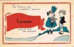 Toronto banner w bouquet