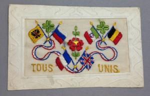 WWI silk