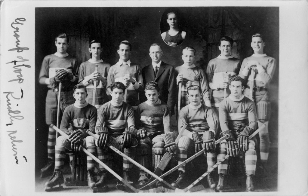 [Baptist hockey team]