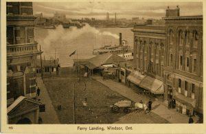 Ferry Landing, Windsor, Ont.