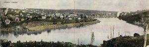 Bifold postcard of Cobalt, Ontario